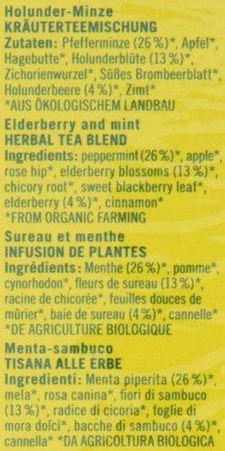 Lebensbaum Holunder Minze, 4er Pack (4 x 50 g) – Bio