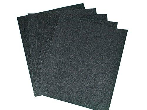 (P80) gros grain 80 feuilles de Papier abrasif pour usage à sec ou mouillé feuilles de Papier de nettoyage