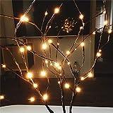 Luce Notturna Lampada di diramazione di salice luci floreali casa festa di Natale partito giardino arredamento luce notte ha portato lampada da notte