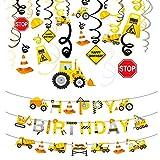 Phogary BAU Geburtstag Party Dekorationen Wirbel und Spirale Lieferungen(31 Stück) Geburtstagsfeierdekorationen Set,Kindergeburtstag Startseite Decke Hängend Wand-Dekor