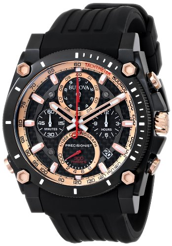 precisionist-chronograph-stainless-steel-case-rubber-strap-black-tone-dial-date-display