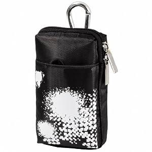 Tasche XL für PSP Go, Schwarz/Weiß