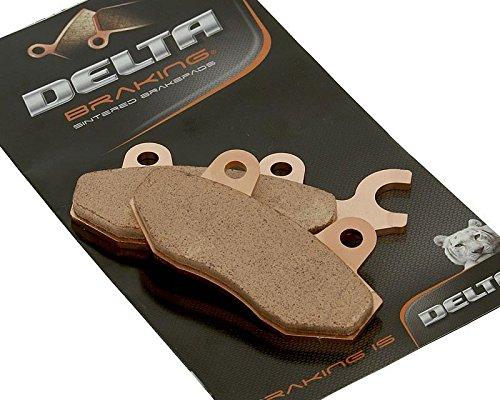 Delta db2880rdn Plaquettes Plaquettes - ccm 125 TL Année de construction 08-09 (arrière)