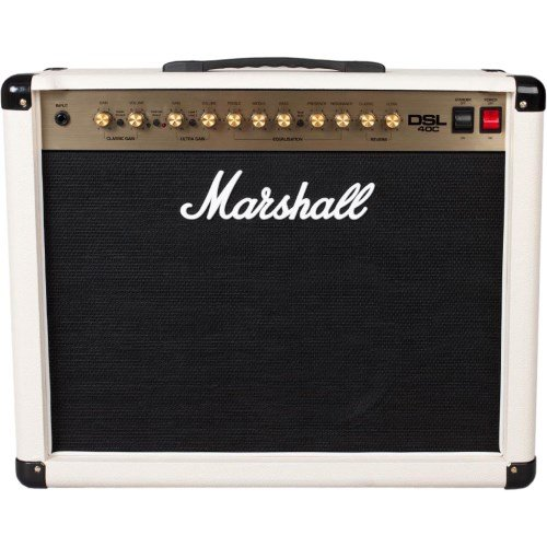 Marshall DSL40C Creme Special · Amplificador