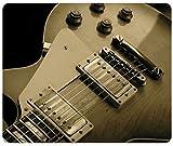 Closeup Music Gibson Les Paul Guitars Customized Rectangle Mousepad, Gaming Mouse Pad Mouse Mat
