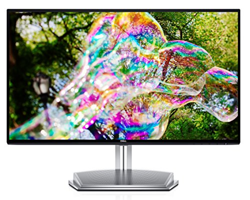 Dell S2418H Full HD (1920 x 1080) 24-inch Monitor, HDMI, VGA, Integrated 12W Speakers, Infinity Edge Design, AMD FreeSync, IPS - Black