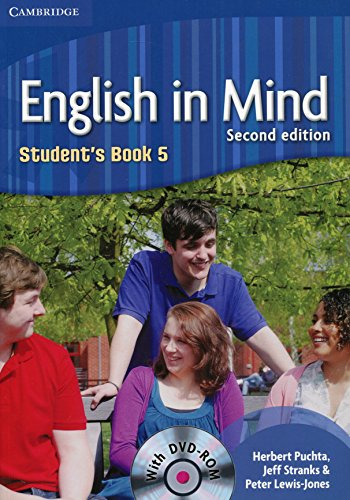 English in Mind 2nd  5 Student's Book with DVD-ROM - 9780521184564