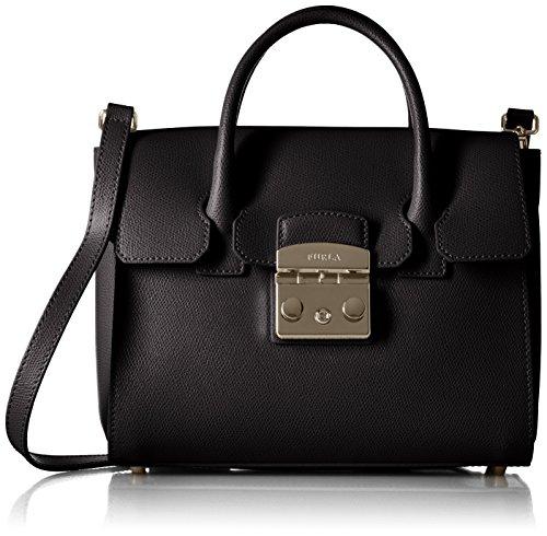 Furla - 820658, Bolsos maletín Mujer, Negro