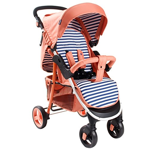 My Babiie MB30 Coral Stripes Pushchair