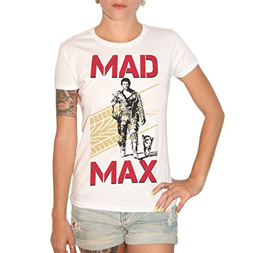 T-shirt MAD MAX 1–by Brain Factory blanc