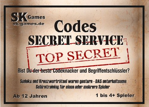 Codes - Secret Service (An Imitation Game with Codenames) von SK Games