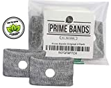 Prime Bands 4 Pack of Motion Sickness Bands - Drug Free Anti Nausea