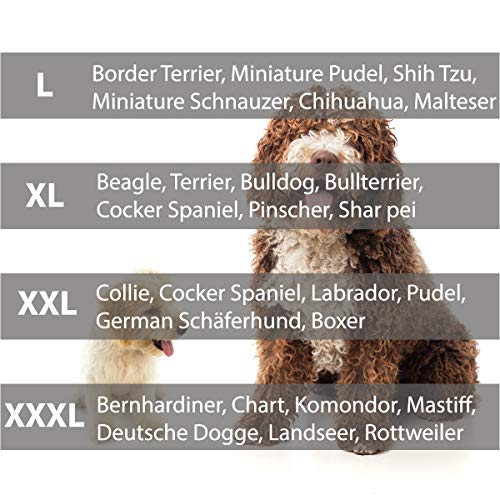 Hundebett Schlafplatz Hundekissen Comfort Große: XL Farbe: grau mit rot - 6