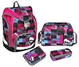 Scooli Schulrucksack Set Twixter Monster High 2015
