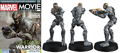 FIGURA DE RESINA MARVEL MOVIE COLLECTION Nº 22 CHITAURI WARRIOR