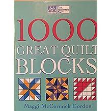 1000 Great Quilting Blocks