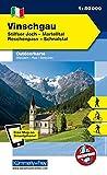 Italien Outdoorkarte 01 Vinschgau 1 : 50.000: Ortler-Silfser Joch, Reschenpass,Schnalstal. Wanderwege, Radwanderwege, Nordic Walking, Skilanglauf, Skitouren (Kümmerly+Frey Outdoorkarten Italien) -