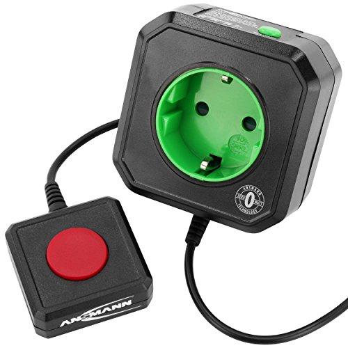 ANSMANN Coupe Veille pour prise électrique / économiseur d'énergie AES3 pour PC, ordinateur et accessoires de PC / installation...