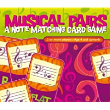 Musical Pairs Game