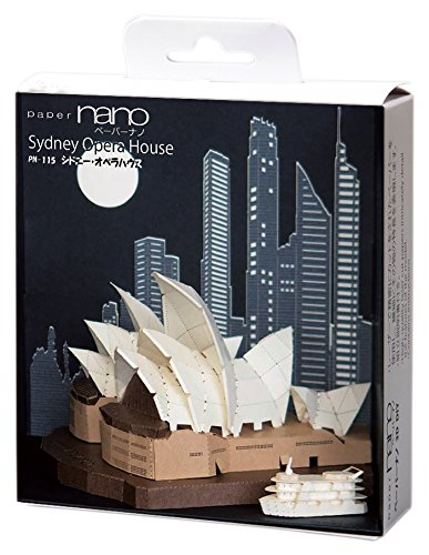 Nanoblock NAN-PN115 Paper Nano Sydney Opera House