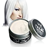 SOMEAS Instant Haarfarbe Wachse Einfach Waschbar White