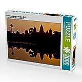 CALVENDO Puzzle Sonnenaufgang in Angkor Wat 2000 Teile Lege-Größe 90 x 67 cm Foto-Puzzle Bild von Harry Müller