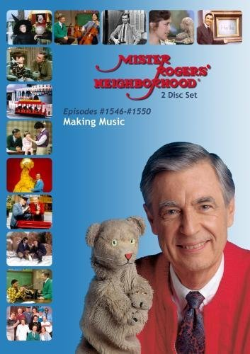 Mister Rogers' Neighborhood: Making Music (#1546-1550) Music as a Way to Express Feelings (2 Disc)