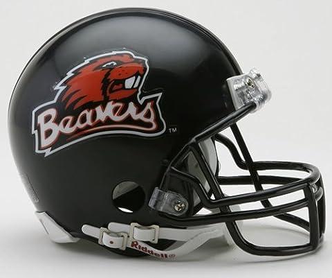 Oregon State Beavers Replica Mini Helmet w/ Z2B Mask by Riddell