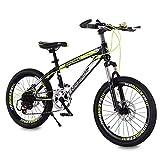 HUALQ Fahrrad Kind Fahrrad 20 Zoll 8-12 Jahre Alt Stoßdämpfung Geschwindigkeit Kinderwagen Grundschule Berg Weiblichen Jungen Fahrrad