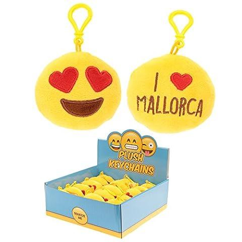 étalon en peluche Merveilleux souvenirs Mallorca son Porte-clés avec passant de plastique