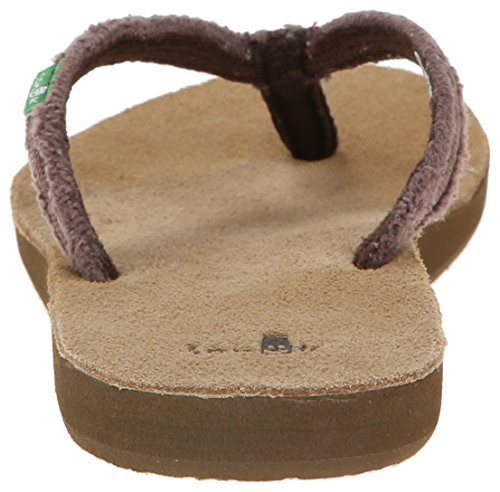 Sanuk Sanuk Slim Fraidy Sandals Women Marrone