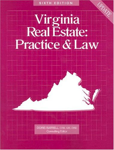 Virginia Real Estate: Practice & Law por Not Available