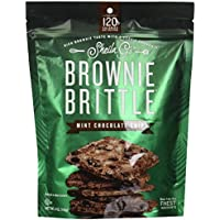 BROWNIE BRITTLE LLC - Brownie Brittle, Mint Chocolate Chip, 5-oz.