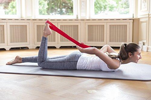 Liebscher & Bracht Schlaufe, erleichtert Übungen zur Engpassdehnung, für eine effiziente Schmerztherapie zusammen mit Yoga und Faszien-Training - 4