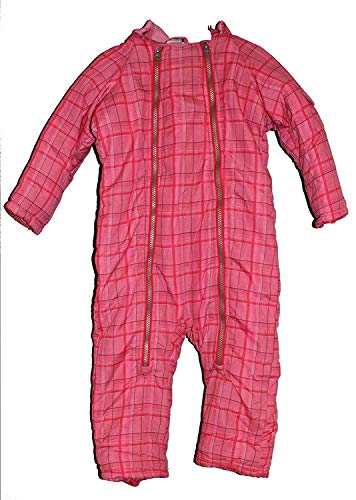 Yo Baby Baby Winteranzug Overall Winterjacke Skianzug Kinder Anzug Schneeanzug Overall Style Jobka (Rosa, 86)