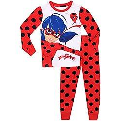 Miraculous Ladybug - Ensemble De Pyjamas - Ladybug - Fille - Bien Ajusté - 5-6 Ans