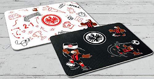 Eintracht Frankfurt Frühstücksbrettchen Attila 2er-Set