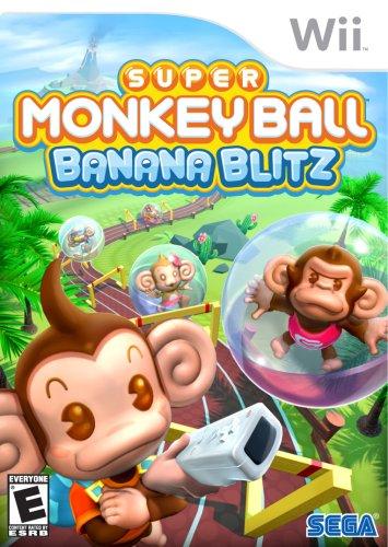 Super Monkey Ball Banana Blitz (Wii Blitz Banana)