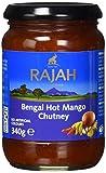 RAJAH Bengal Mango Chutney, scharf, 340 g
