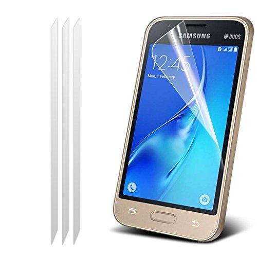Samsung Galaxy J5 2016 [J510FN, J510F, J510G, J510Y, J510M] Hülle Etui Fall (Pink) Slim-Fit-Abdeckung für Samsung-Galaxie J5 2016 Hülle Etui Fall Haltbarer S Linie Wellen-Gel-Kasten-Haut-Abdeckung + L (Pack of 3) Screen Protector