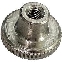 AERZETIX: 5x Tuercas moleteada M3 L6/12mm H2.5/7.5mm DIN466 acero inoxidable A1 C19223