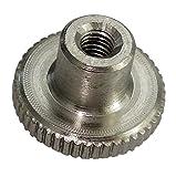 Aerzetix: 5x écrou moleté M3 L6/12mm H2.5/7.5mm DIN466 acier inox A1 C19223