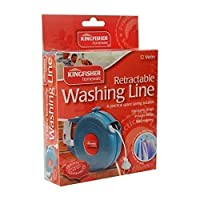 12 METRE RETRACTABLE WASHING CLOTHES LINE. INDOOR OUTDOOR USE. DRYER AIRER