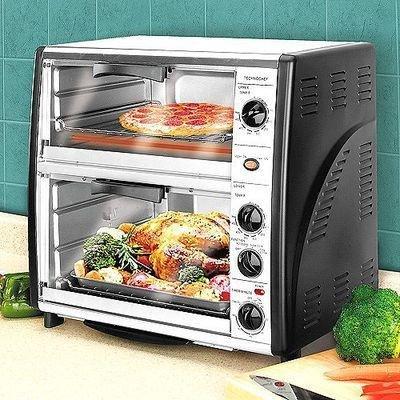 Syntrox germany back chef 42 litre multi double oven for Ariete bon cuisine 300