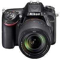 Nikon D7200-24.4 MP SLR Camera Black 18-140mm Lens Kit