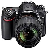 كاميرا نيكون D7200  - 24.4 ميجا، SLR  كاميرا، عدسة 140 ملم – اسود