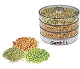 Gambit Plastic Sprout Maker - Big (2 lit...