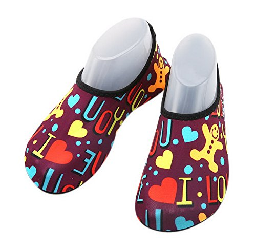 Kinder Tauchen Schuhe rutschfeste Tretmühle Schuhe Sandalen Schwimmen Schuhe Mehrfarbig
