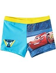 Boxer de bain enfant garçon Disney Cars Bleu de 3 à 8ans