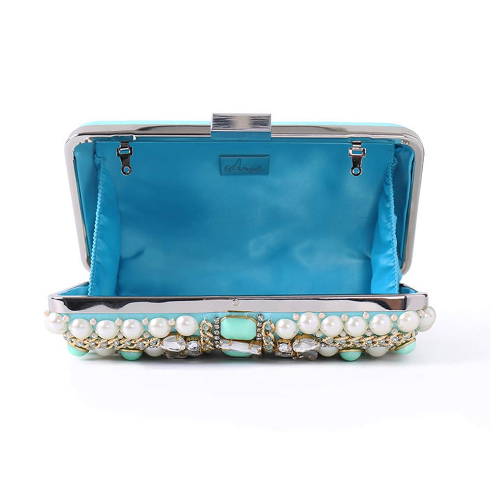 d13c7e8380131 Lovely Rabbit Women's Sparkly Diamante Crystal Rhinestone Clutches Evening  Handbag For Wedding Night Out Prom